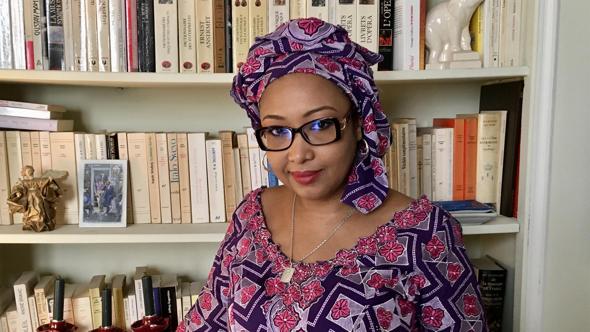 Писательница из Камеруна Джаили Амаду Амаль