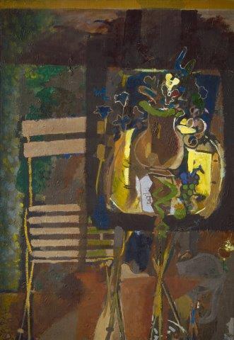 تابلوی میز باغ، اثر اثر ژرژ براک