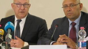 Le ministre de l'Economie du Mali, Mamadou Igor Diarra.