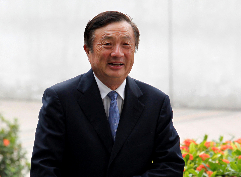 ស្ថាបនិកក្រុមហ៊ុន Huawei លោក Ren Zhengfei។