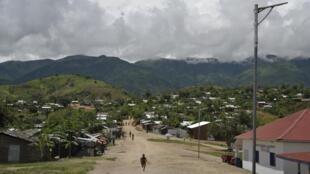 Dans le camp de réfugiés de Lusenda.