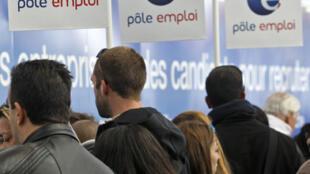 La France compte plus de 4,6 millions de demandeurs d'emploi en décembre 2012.