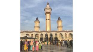 La Grande Mosquée de Touba au Sénégal.