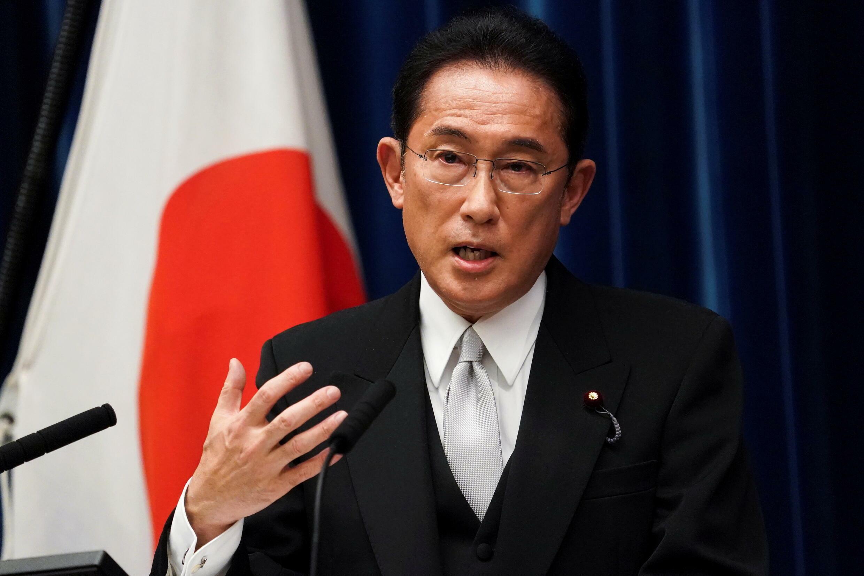 日本首相岸田文雄资料图片