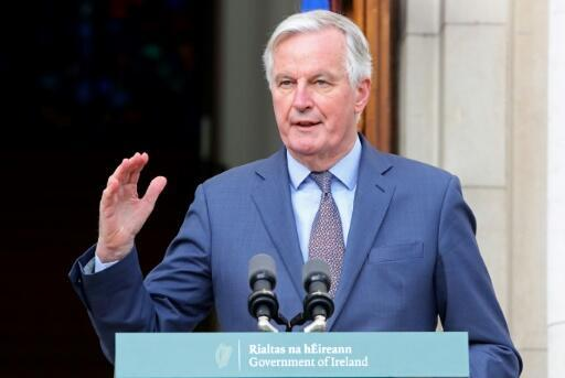 """The EU's chief Brexit negotiator Michel Barnier warned of a """"cliff edge"""" in relations if a new trade deal is not agreed by the end of the year"""