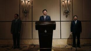 即将出任中联办主任的李刚  2010年5月24日
