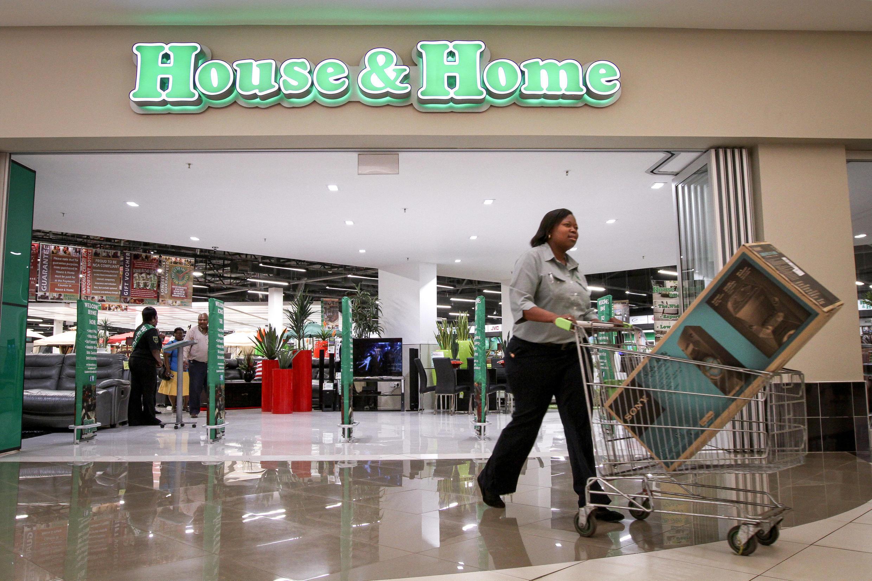 Centre commercial de Pretoria, en Afrique du Sud.