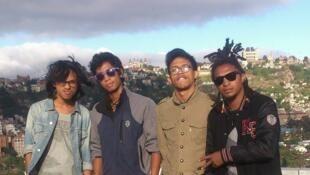 Le groupe punk malgache The Dizzy Brains.
