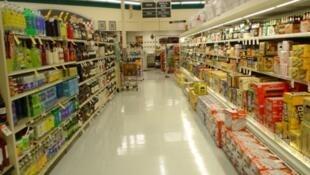 Rayon d'un supermarché.
