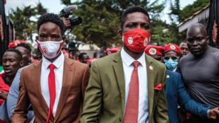 Bobi Wine da tawagarsa
