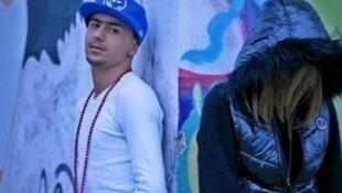 Capture d'écran du clip «Boulicia Kleb» à l'origine de la condamnation du rappeur Weld El 15 à deux ans de prison ferme.