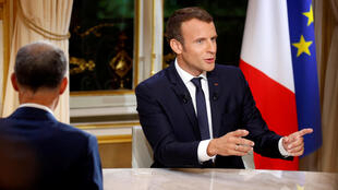 L'entretien avec le président français sur TF1 dimanche soir  a été suivi par 9,5 millions de téléspectateurs, soit 36,6% de part d'audience, selon les chiffres de Médiamétrie.