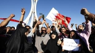 Thousands of demonstrators returned to Manama's Pearl Square on Saturday.