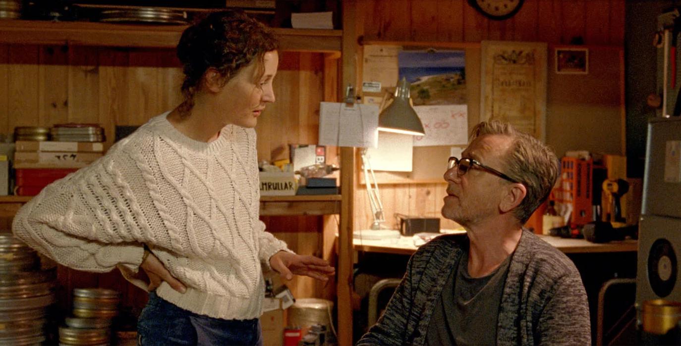 """Image extraite du film """"Bergman island"""" de Mia Hansen Love, présenté au 74ème festival de Cannes."""