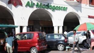 Le siège de la compagnie aérienne Air Madagascar, en plein cœur de la capitale Antananarivo.