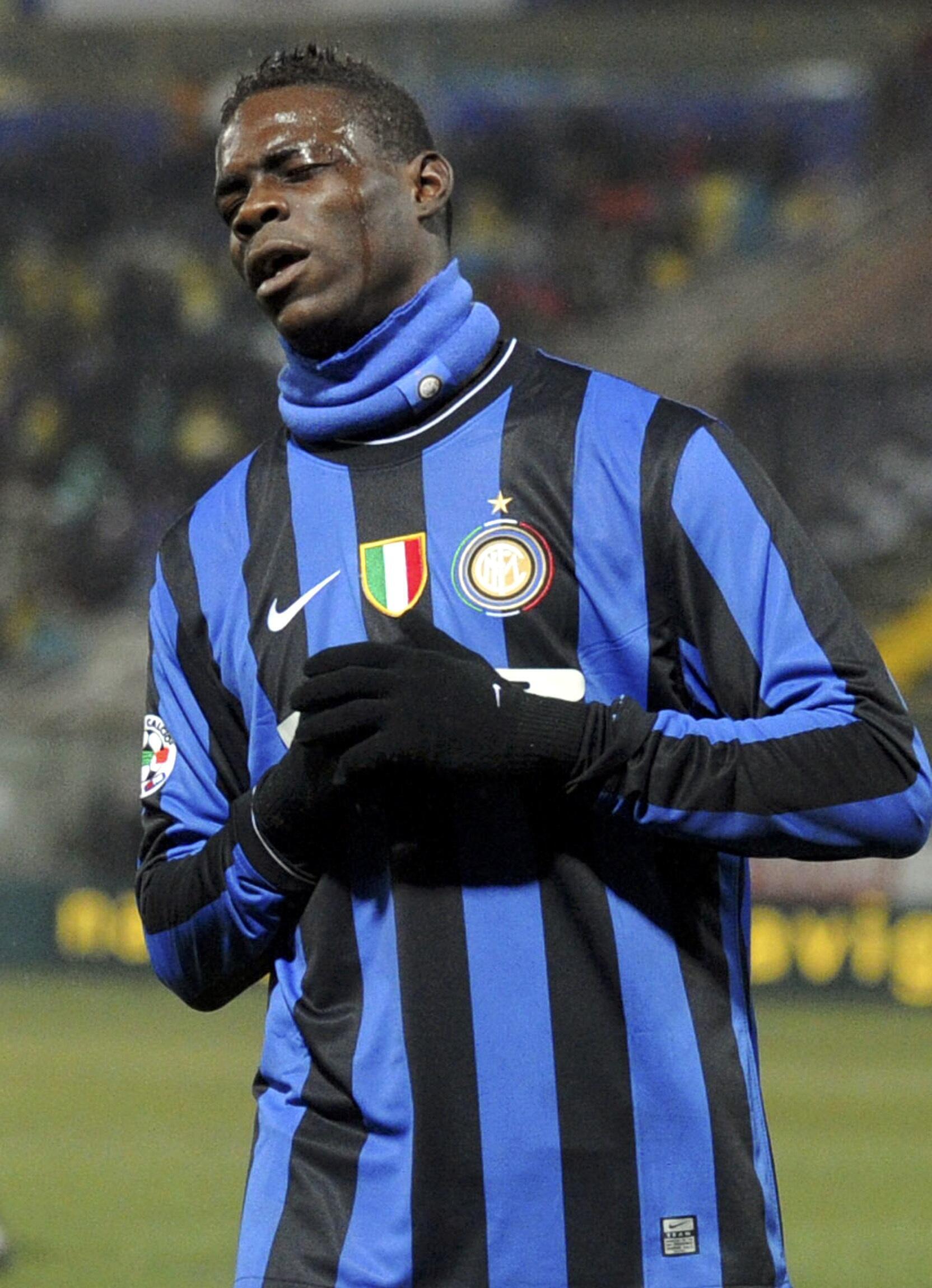 L'Italo-Ghanéen Mario Balotelli.