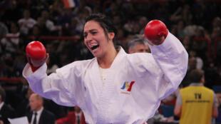 Lolita Dona, championne du monde dans la catégorie des moins de 61 kilos, le 24 novembre 2012.