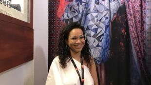 Rose Palhares no seu espaço do Hôtel Majestic no Festival de cinema de Cannes