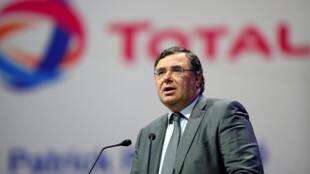 Глава Total Патрик Пуянне в Тегеране, июль  2017.