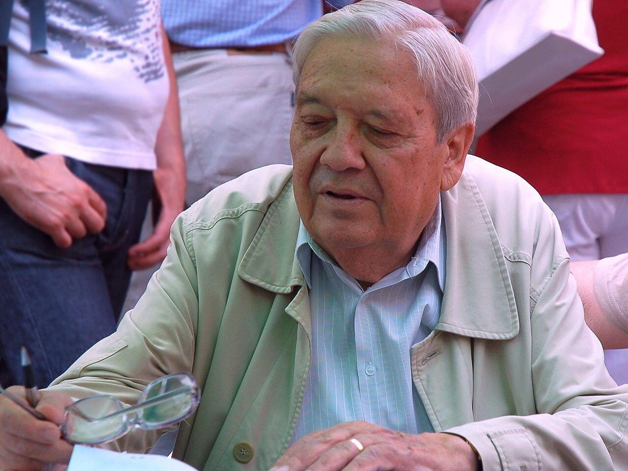 Nhà chính trị Hungary Pozsgay Imre, ảnh chụp năm 2012.