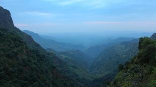 Vue du mont Semien.