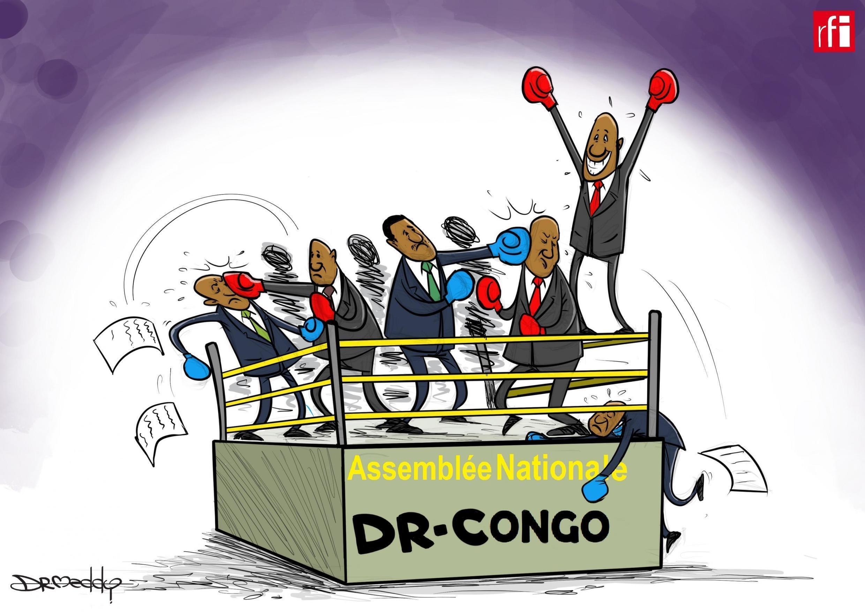 DR-Congo: Vurugu katika bunge la kitaifa nchini DRC zakati za kura ya kumuondoa naibu spika.  27/05/2020