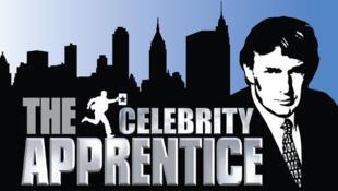 پوستر برنامۀ تلویزیونی دونالد ترامپ که از شبکۀ ان بی سی پخش میشد: The Celebrity Apprentice