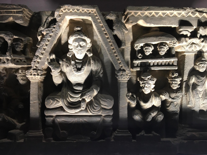 Represetanção de Buda no museu Guimet, de Paris.