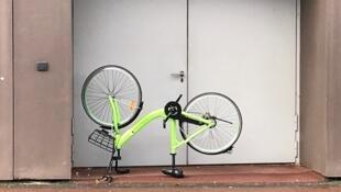 La société Gobee.bike, concurrente du Vélib', subit de nombreuses dégradations sur ses vélos.