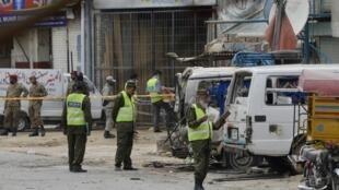 "سوء قصد انتحاری در شهر ""لاهور"" پاکستان"