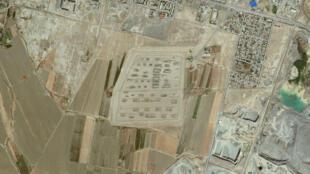 Квартал г. Абадана на Google Maps