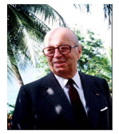 L'ancien conseiller de l'Elysée pour les Affaires africaines, Jacques Foccart.