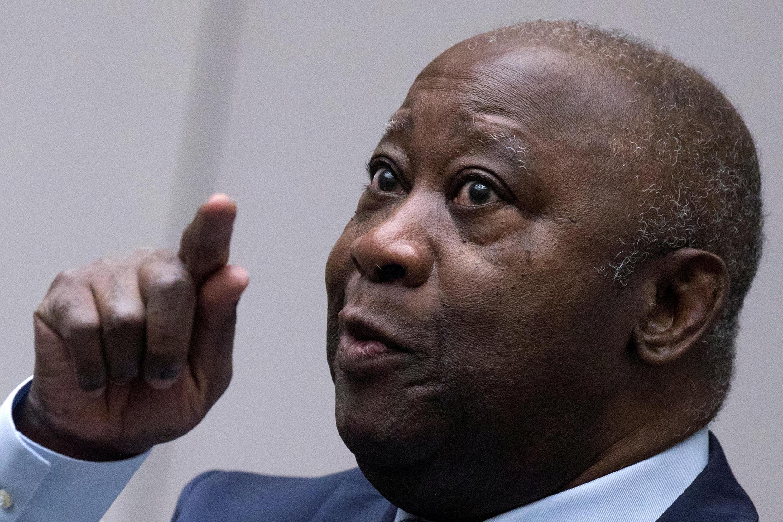 Laurent Gbagbo, katika Mahakama ya Kimataifa ya Makosa ya Jinai huko Hague, Januari 15, 2019.