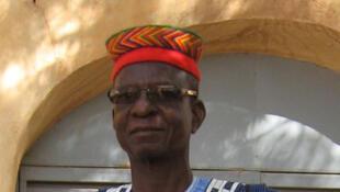 Le Roi Mossi Baloum Naaba Tanga II en 2012.