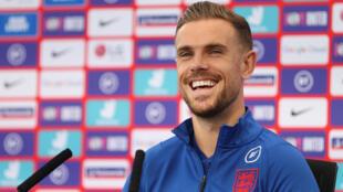 England midfielder Jordan Henderson