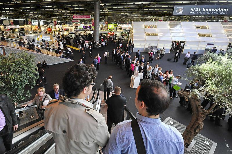 Feira Sial acontece no Parc des Expositions de Villepinte e termina na quinta-feira.