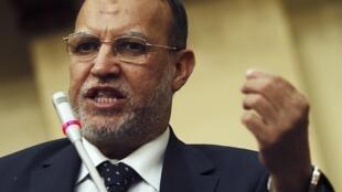 Ông Essam El-Erian, lãnh đạo số 2 của đảng Tự do và Công lý, Cairo, Ai Cập, 25/05/2013