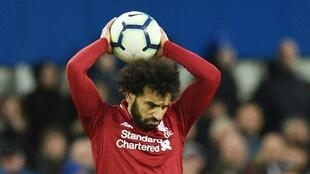 Mo Salah spurned two good opportunities to score for Liverpool in their derby against Everton.
