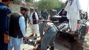 L'attentat-suicide en Afghanistan de ce 20 mai a fait au moins 14 morts et une dizaine de blessés.
