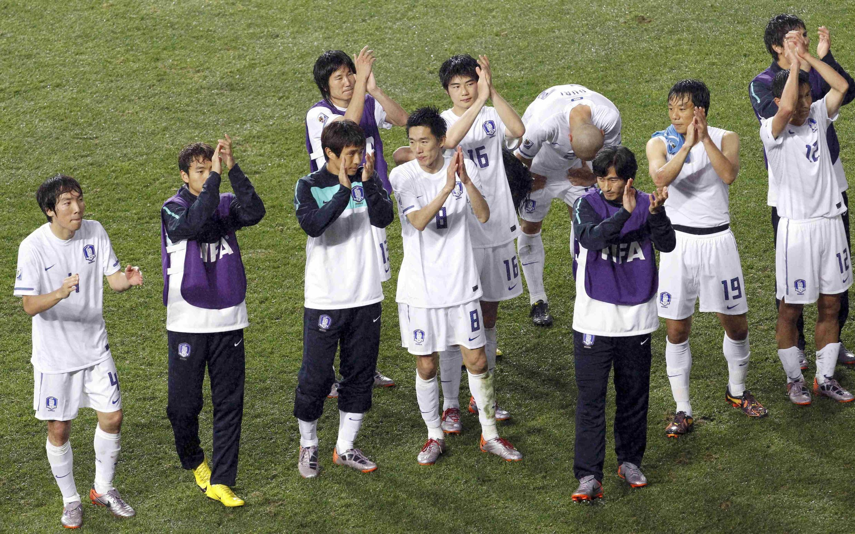 Đội Hàn Quốc đã để lại ấn tượng về tinh thần thi đấu quả cảm