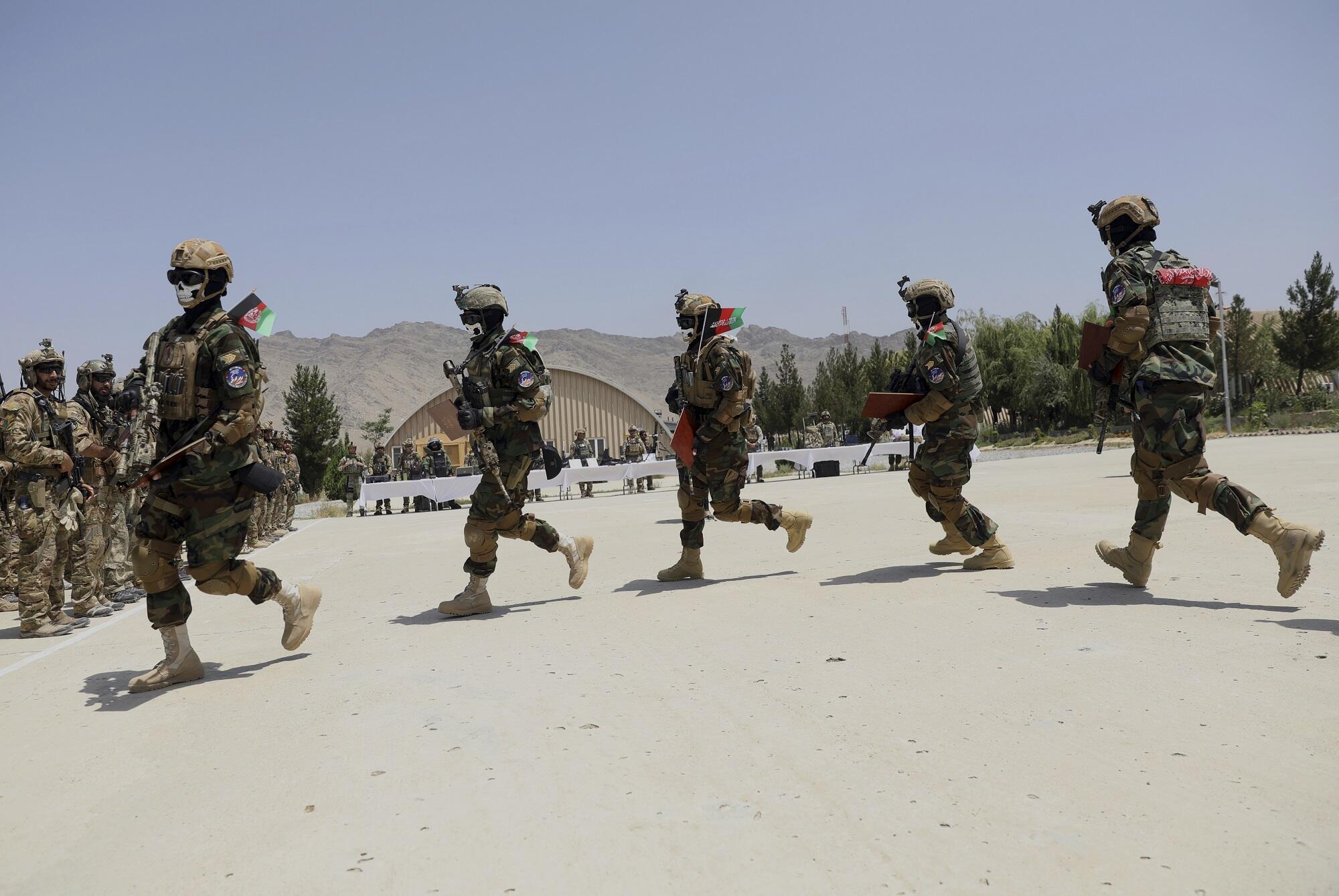 Afganistan fuerzas especiales