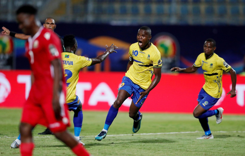 Le capitaine tanzanien Aly Samatta lors de la CAN 2019..