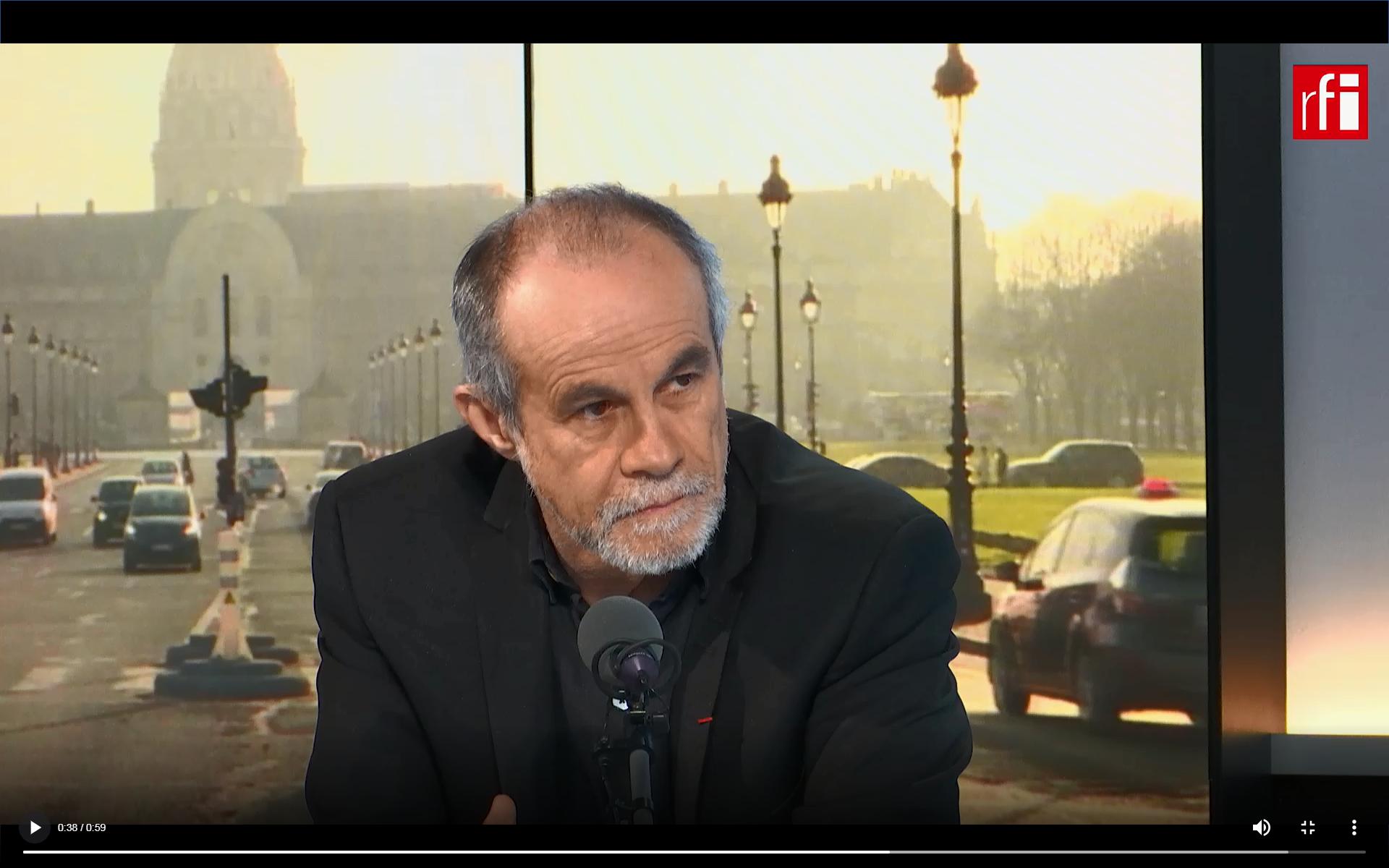 """Carlos Moreno, el creador del concepto de """"Ciudad del quarto de hora"""", invitado de Escala en Paris."""