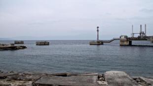 Terminal Krk en Croatie.