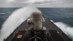 美國海軍公布的相關軍艦資料圖片