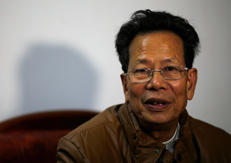 Ông Lâm Tổ Loan (Lin Zuluan), ở thôn Ô Khảm, tỉnh Quản Đông, năm 2014.