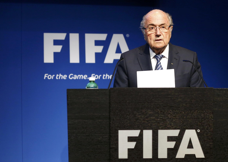 Действующий президент ФИФА Йозеф Блаттер