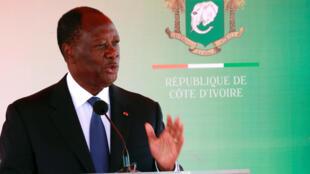 Le président ivoirien Alassane Ouattara veut voir le RHDP sur pied d'ici deux mois.