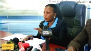 Mkurugenzi wa Kituo cha Sheria na Haki za Binadamu Tanzania, LHRC Anna Henga