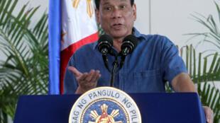 Rodrigo Duterte, le président des Philippines.